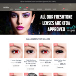 10% off Storewide (New Customers) @ Halloween Contact Lenses