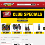 Penrite Full Synthetic Engine Oil 5W-30 and 10W-40 6L $40.79 @ Supercheap Auto (Club Membership Required)