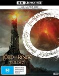 The Lord of The Rings Trilogy 4K UHD (Extended & Theatrical Editions) 9-Disc Set $69.99 Delivered @ Amazon AU