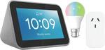 Lenovo Smart Clock Starter Kit (Smart Colour Bulb + Smart Plug Bundled) $84.15 + Delivery ($0 C&C) @ The Good Guys