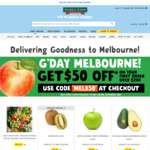 [VIC] $50 off of Your First Order of $200+ @ Harris Farm