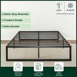 [eBay Plus] Zinus QuickLock Bed Frame - Single $98.10, DB $125.10, QB $116.10, King $143.10 + Free Metro Delivery @ Zinus eBay