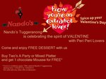 Nando's Tuggeranong-Get a Free Chocolate Mousse Worth $3.95 with Two's A Party & Mixed Platter