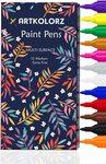 ArtKolorz Acrylic Paint Pens Set of 12 $11.30+ Deliver ($0 with Prime/ $39 Spend) @ artkolorz Amazon AU