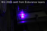 Win a US$200 PayPal Transfer from Endurance Lasers