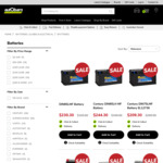 30% off Batteries e.g. Century 55D23LF $139.99 (Was $199.99), Optima D34 $293.30 (Was $419) C&C /+ Delivery @ AutoBarn