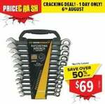 GEARWRENCH Limited Edition Black 12 Piece Metric Ratcheting Spanner Set 9412BE $69 C&C/ + Delivery @ Total Tools