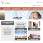 Extra 10% off Sitewide + Free Shipping @ TLC Latex Pillows