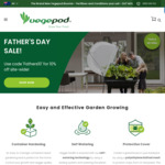 10% off Site Wide + Delivery @ Vegepod