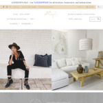 30% off Furniture, Homewares and Fashion Items + Delivery @ Bisque Traders