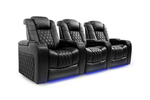 Valencia Tuscany Home Theatre Lounge Seating Row of 3 - $7,499.98 (RRP $14,999.98) Delivered @ Valencia Theater Seating