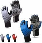 JORAGO Lycra Cycling Half-Finger Gloves 2 Pairs $14.99 (Was $19.99) + Delivery ($0 with Prime/ $39 Spend) @ Jorago via Amazon AU
