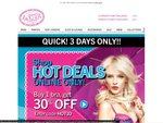 Lasenza 30-50% off Bras 3 Days Only Online Only