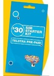Telstra $30 SIM Starter Pre-Paid for $10 at BIGW Starts 11 Oct