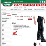Honda Delta Textile Motorcycle Pants $120 RRP $220 45% off at Peter Stevens - FREE SHIPPING