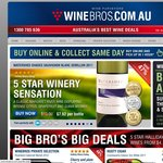 WINEBROS - FREE Case (24x 500ml) Kiss Cider (Val $190) with 6 Bottle Sparkling Wine Purchase