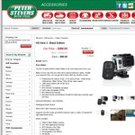 GoPro 3 Black Edition $399.95 + FREESHIPPING @ Peter Stevens Motorcycles (Aus Stock)