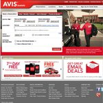 1000 Extra Qantas FF Points for 3 Day Rentals at Avis