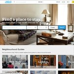 $100 off Airbnb Booking (1st Time User Only)
