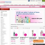 Buy 3 Selected Products for $100 + Free Shipping @ Cosmeparadise
