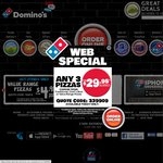 Domino's Supreme Pizzas from $4.95* Pick Up 15/06/2014 only