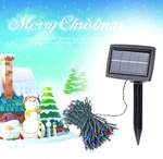 20.5m Solar Powered LED String Light for Christmas Party $14.44 USD @ LighTake