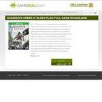 XBOX One - Assassin's Creed IV Black Flag Digital Download - $10.99 USD