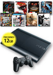 12GB PlayStation 3 Console + 8 Games (Preowned) $178 @ EB Games