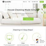 (Sydney) Book a 2.5 Hour Home Cleaning with HomeHello for $39