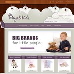 50% OFF Kids & Baby Clothing @ Royal Kids