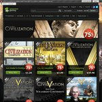 Up to 75% off Sid Meiers Civilization Titles @ GreenManGaming
