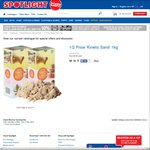 50% off Kinetic Sand - Sand in Motion - Natural 1kg $9.99 @ Spotlight - Victorian Stores Only