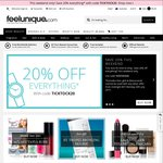 20% off Sitewide @ Feelunique (UK Beauty Store)