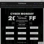TOPMAN - Free Worldwide Standard Delivery + 20% off Everything