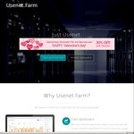 Usenet.farm 30% off Monthly Accounts and Blocks (€9.10/~ $14.45AUD for 500GB Block)