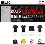 BLK | Run-Out Sale: 60% off 2015 Styles (E.g Adult AFL Guernseys from $36)