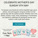 "Pose for a Free Mother's Day 6x8"" Photo/Card @ Harvey Norman"