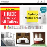 All Toilets 30% off (+ Post) - 3 Days Only @ Bella Bagno