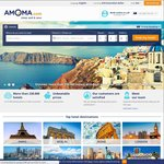 8% off All Hotels (No Date Restrictions) @ Amoma.com