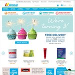 Free Delivery on Orders $30 or Above - Amcal (Today Only)