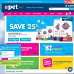 Hill's Science Diet Cat & Dog Food - 25%+ off Online Only @ PETstock
