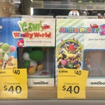 Wii U - Yoshi's Wolly World / Mario Party 10 (Amiibo Combos) $40 Each at Target