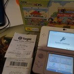 $179 New Nintendo 3DS Console with Animal Crossing Happy Home Designer @ Target Bull Creek WA