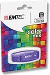 EMTEC - Color Mix 8GB USB 2.0 Flash Drive $4 @ EB Games