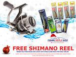 Shimano Symetre FL 2500 or 3000+8 Assorted Inshore Berkely/Sebile Hardbody Lures $91 | 100 Beak Hooks $1.89 Posted @ FTS