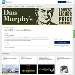 AmEx Statement Credit: Dan Murphy's Online (Spend $50 or More Get $10 Back)