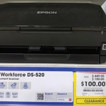 Epson WorkForce DS-520 Document Scanner / $100 / Clearance / Officeworks