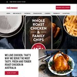 Whole Roast Chicken, Family Size Chips and 1.25l Drink for $15 @ Red Rooster Via Red Royalty App