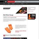 Free Belt Wear Gauge from Gates Australia