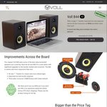 Voll - B44 V2 Bookshelf Speakers Pre-Order (End of May Delivery) $94.95 Including Metro Shipping (Save $25)